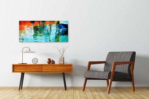 תמונה לחדרי המתנה - אורית גפני - צבעים בנמל - מק''ט: 312882