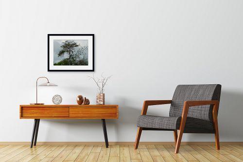 תמונה לחדרי המתנה - ענת אומנסקי - עץ רוקד - מק''ט: 313750