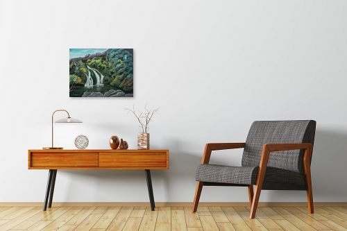 תמונה לחדרי המתנה - דיאנה אורן - מפל בגולן - מק''ט: 316063
