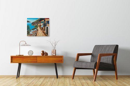 תמונה לחדרי המתנה - מזל בוכריס - מרפסת על המים - מק''ט: 316377