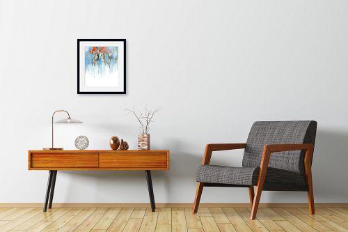 תמונה לחדרי המתנה - גורדון - מופשט אורבני - מק''ט: 318672