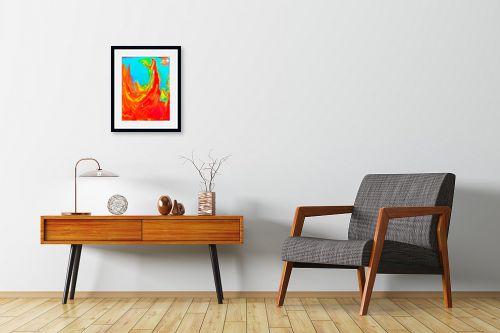 תמונה לחדרי המתנה - אירית שרמן-קיש - אימא אדמה - מק''ט: 319012