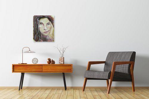 תמונה לחדרי המתנה - אילה ארויו - רגע מחשבה - מק''ט: 320615