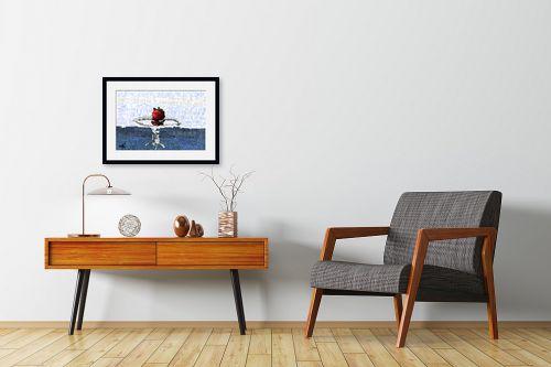 תמונה לחדרי המתנה - אורי רדלר - מצב התפוח - מק''ט: 323727