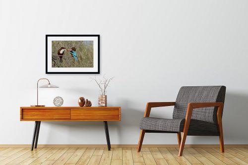 תמונה לחדרי המתנה - כרמל תדמור - נשיקת השלדג - מק''ט: 329300