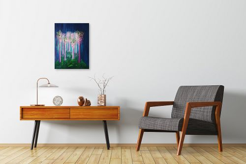תמונה לחדרי המתנה - אורית גפני - אור ביער - מק''ט: 330330