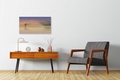 תמונה לחדרי המתנה - Artpicked - פסטל - מק''ט: 330447