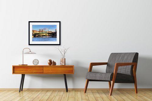 תמונה לחדרי המתנה - מתן הירש - נהר בוינה - מק''ט: 330942