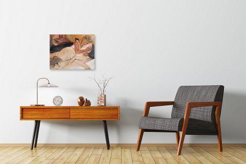 תמונה לחדרי המתנה - אהובה מגן - פורטרט עצמי - מק''ט: 330952