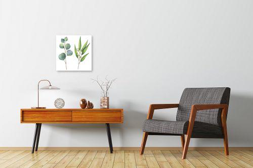 תמונה לחדרי המתנה - Artpicked - ענפים בוטניים - מק''ט: 331023