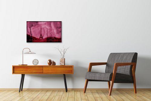 תמונה לחדרי המתנה - Artpicked - פריז בורוד - מק''ט: 332537