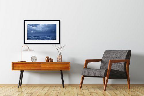 תמונה לחדרי המתנה - אורית גפני - לשוט בעננים - מק''ט: 332693
