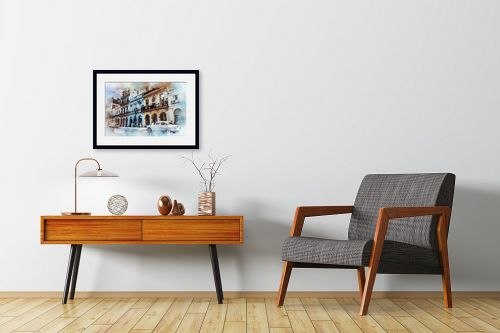 תמונה לחדרי המתנה - Artpicked - רחוב - מק''ט: 333000