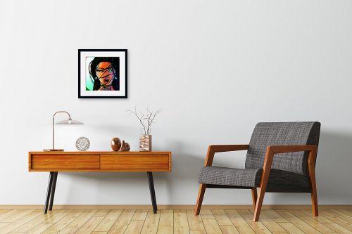 תמונה לחדרי המתנה - חנן אביסף - הדוגמנית ברוק - מק''ט: 52685
