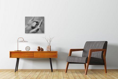 תמונה לחדרי המתנה - אילן עמיחי - כזה קטן - מק''ט: 6109