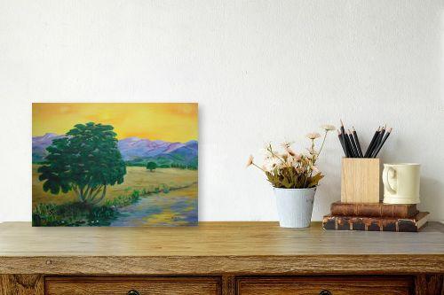 תמונה לשולחן - אסתר חן-ברזילי - עמק הירדן - מק''ט: 107562