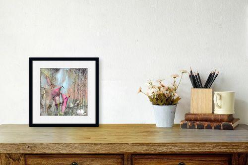 תמונה לשולחן - נעמי פוקס משעול - pink blooming - מק''ט: 112852