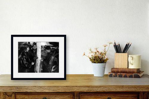תמונה לשולחן - דוד לסלו סקלי - תל אביב 1937 - חבל לאוניה - מק''ט: 141866