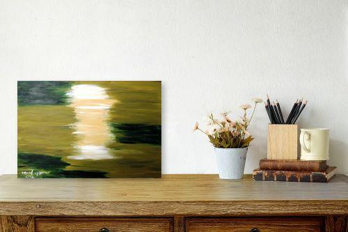 תמונה לשולחן - ורד אופיר - 'ירוקה, - מק''ט: 192214