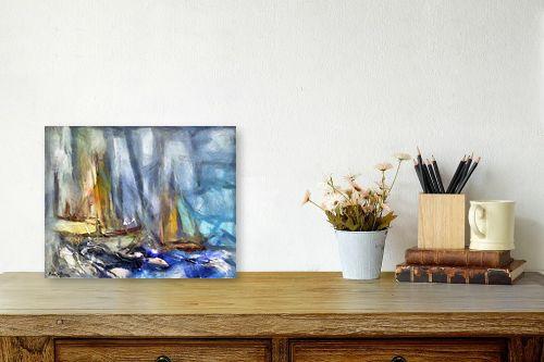 תמונה לשולחן - בן רוטמן - סירות ללא מוצא - מק''ט: 209013