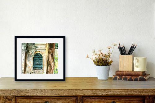 תמונה לשולחן - חיה וייט - דלת בגן - מק''ט: 213113