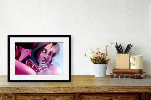 תמונה לשולחן - חנן אביסף - מאיה מצחצחת שיניים - מק''ט: 269537