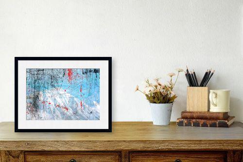 תמונה לשולחן - רוזה לשצ'ינסקי - נוף הרים 5 - מק''ט: 281329