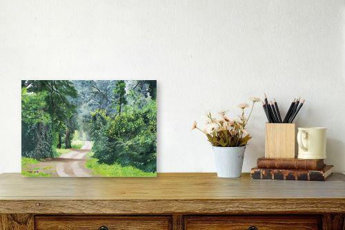 תמונה לשולחן - נריה ספיר - שביל ביער - מק''ט: 284491