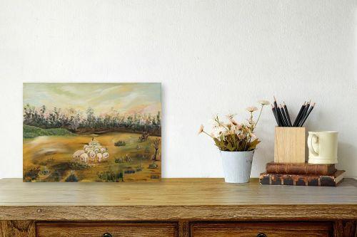 תמונה לשולחן - דיאנה אורן - כבשים - מק''ט: 315900