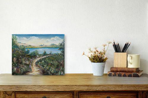 תמונה לשולחן - דיאנה אורן - אל המים - מק''ט: 316173