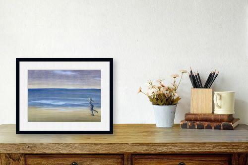 תמונה לשולחן - חני שפר - הים שבפנים - מק''ט: 325517