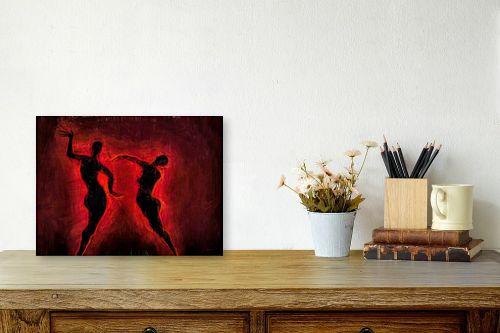 תמונה לשולחן - גורדון - ריקוד האש - מק''ט: 327052