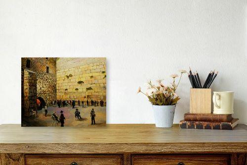 תמונה לשולחן - שמואל מושניק - הכותל המערבי (1) - מק''ט: 330926
