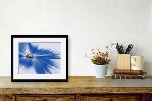 תמונה לשולחן - רעיה גרינברג - ליחה כחול - מק''ט: 333520