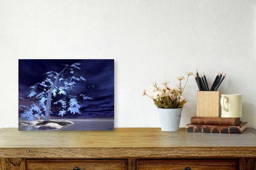 תמונה לשולחן - רעיה גרינברג - כחול - מק''ט: 85312