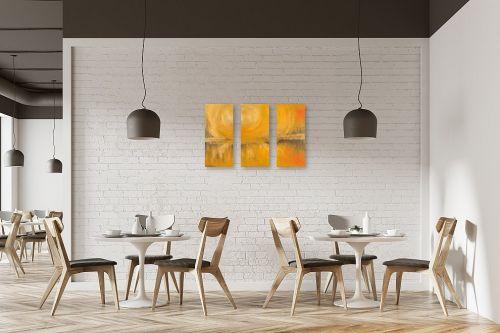 תמונה למסעדה - רוני רות פלמר - שקיעת זהב - מק''ט: 104298