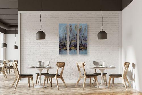 תמונה למסעדה - מרים קופפרשטיך - נוף עם זהב - מק''ט: 139176