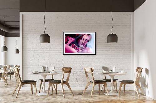 תמונה למסעדה - חנן אביסף - מאיה מצחצחת שיניים - מק''ט: 269537