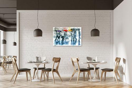 תמונה למסעדה - בן רוטמן - כשאפור, תמיד יש גם צבע - מק''ט: 274678