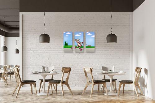תמונה למסעדה - חנן אביסף - בלה הפרה מחליקה על רולר - מק''ט: 287912