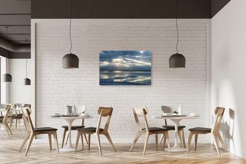 תמונה למסעדה - ארי בלטינשטר - זריחה בכחול - מק''ט: 309573