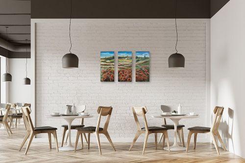 תמונה למסעדה - דיאנה אורן - מרבד פרגים - מק''ט: 316283