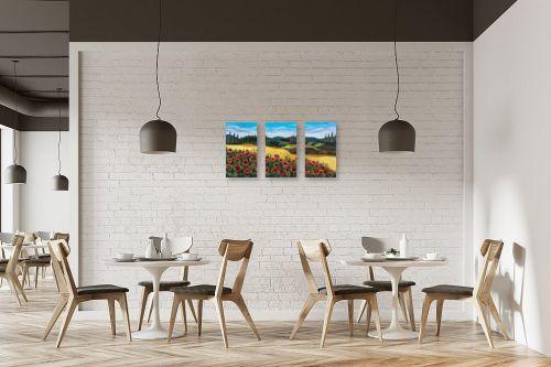 תמונה למסעדה - מזל בוכריס - כלניות אדומות - מק''ט: 316443