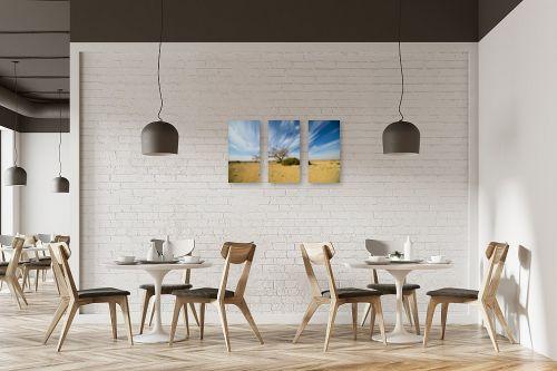 תמונה למסעדה - רן זיסוביץ - ציור בשמיים - מק''ט: 331486