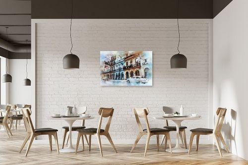 תמונה למסעדה - Artpicked - רחוב - מק''ט: 333000