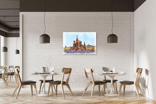 תמונה למסעדה - Artpicked - הקרמלין - מק''ט: 333003