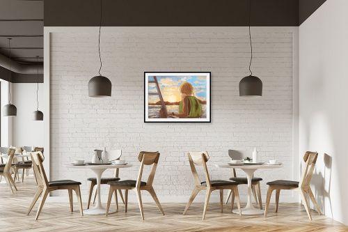 תמונה למסעדה - אילה ארויו - סוף יום בים האדום - מק''ט: 333743