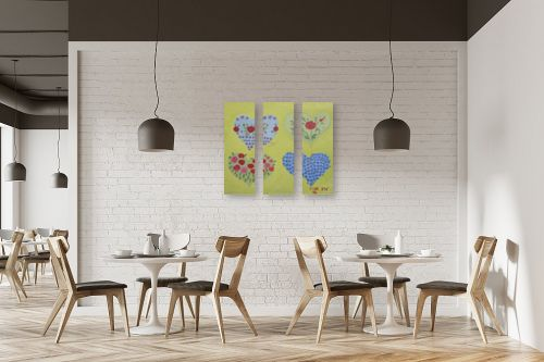 תמונה למסעדה - ורד אופיר - לבבות - מק''ט: 47669