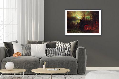 תמונה לסלון - אלברט בירשטאדט - Albert Bierstadt 059 - מק''ט: 124665
