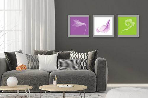 תמונה לסלון - נעמי עיצובים - פרחי קיץ 2 - מק''ט: 161612
